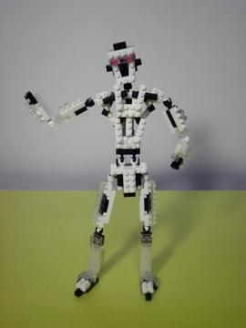 白黒ロボット
