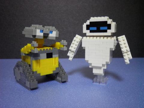 WALL-E&EVE