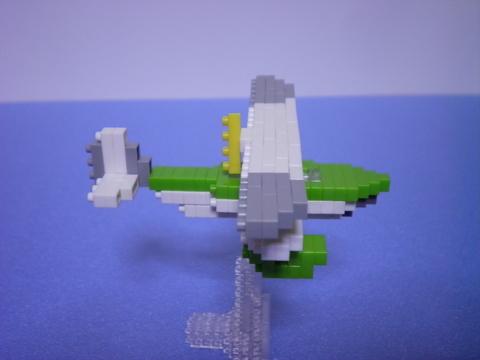 ジーナの飛行艇側面